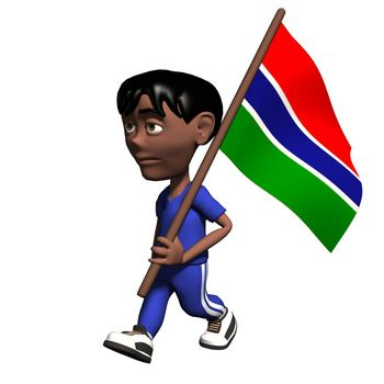 Gambia Clipart
